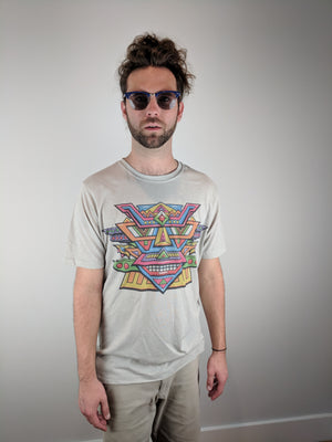 "Color Mask ""Subtle"" Tee by Chris Dyer"