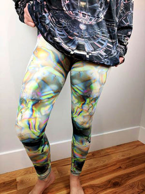 Iridescence Leggings by Hubert Solczynski