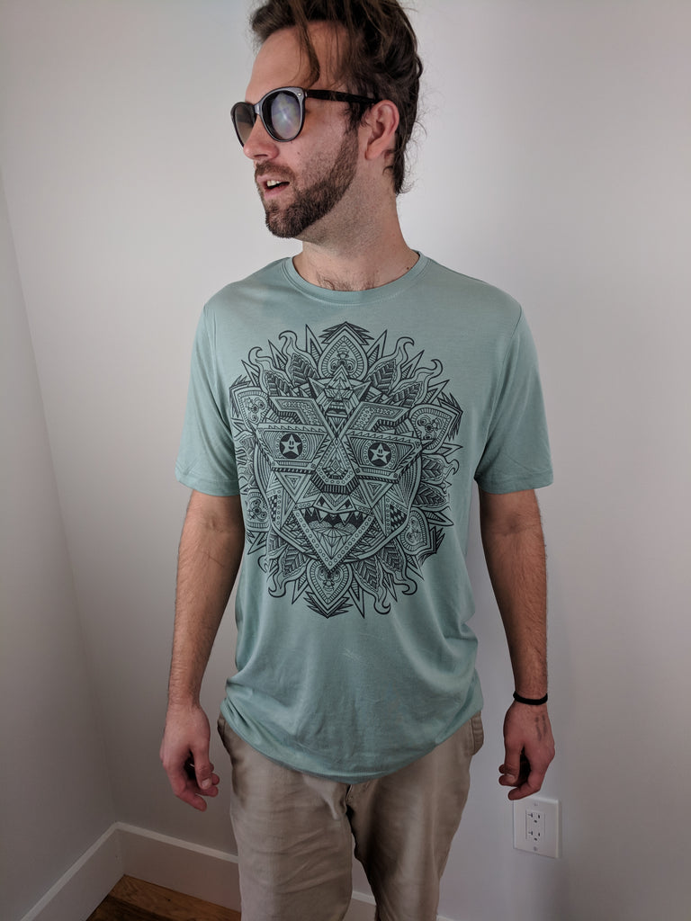 "Robosun ""Subtle"" Tee by Chris Dyer"
