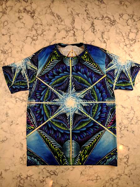 Blue Star Tee by Jame Gaviola