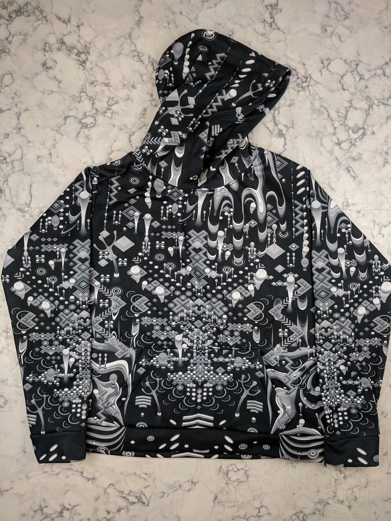 Monochrome Gamehands Hoodie by TAS