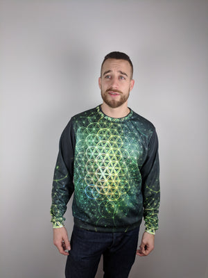 Water Message Crewneck Sweater by FRAMEofMIND