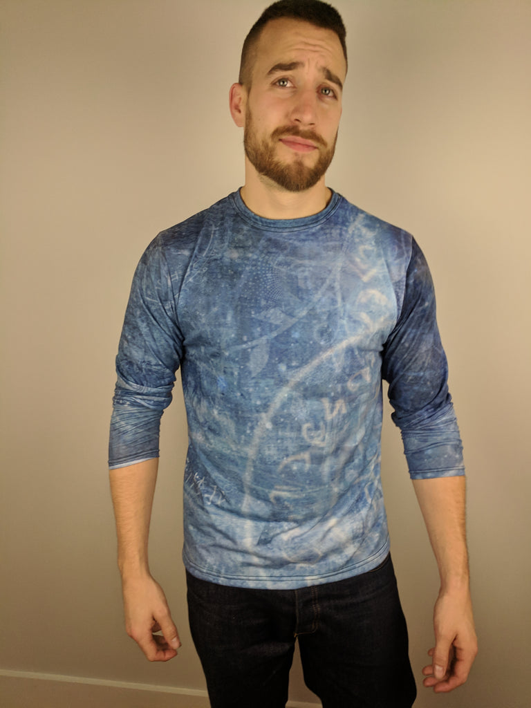 Dream Silence Longsleeve tee By Cameron Gray