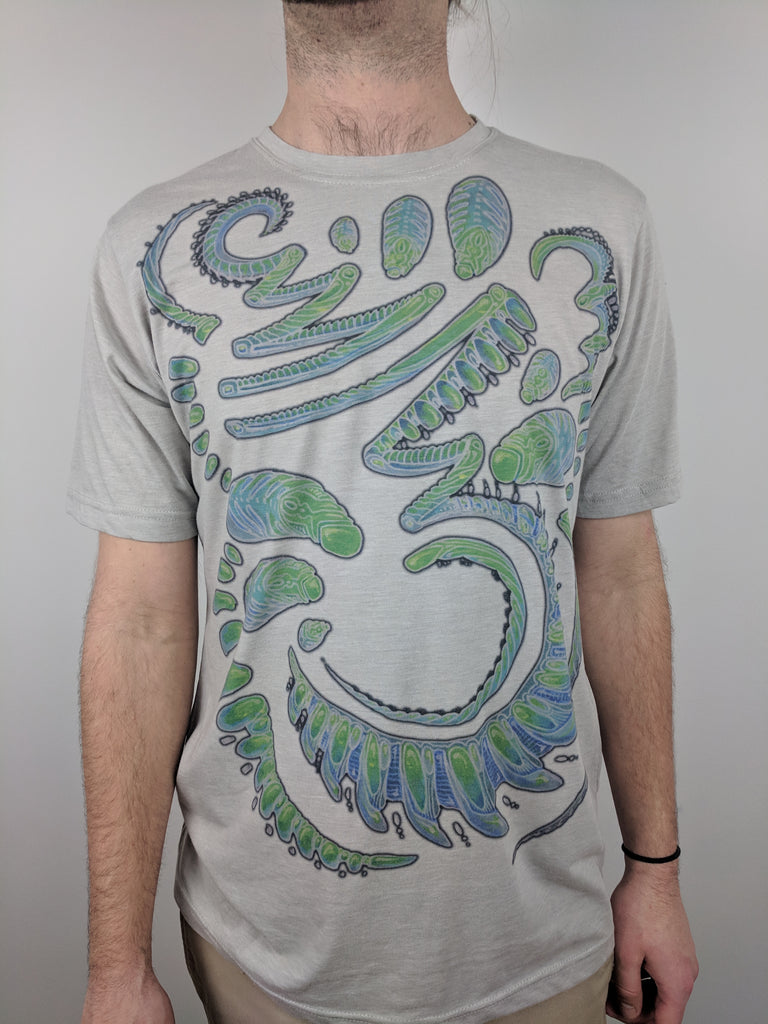 "Green Bioglyph ""Subtle"" Tee by Michael Garfield"