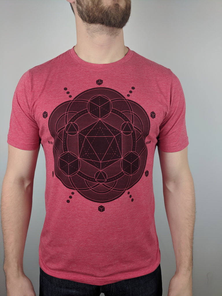 "Icosahedron ""Subtle"" Tee by Brock Springstead"