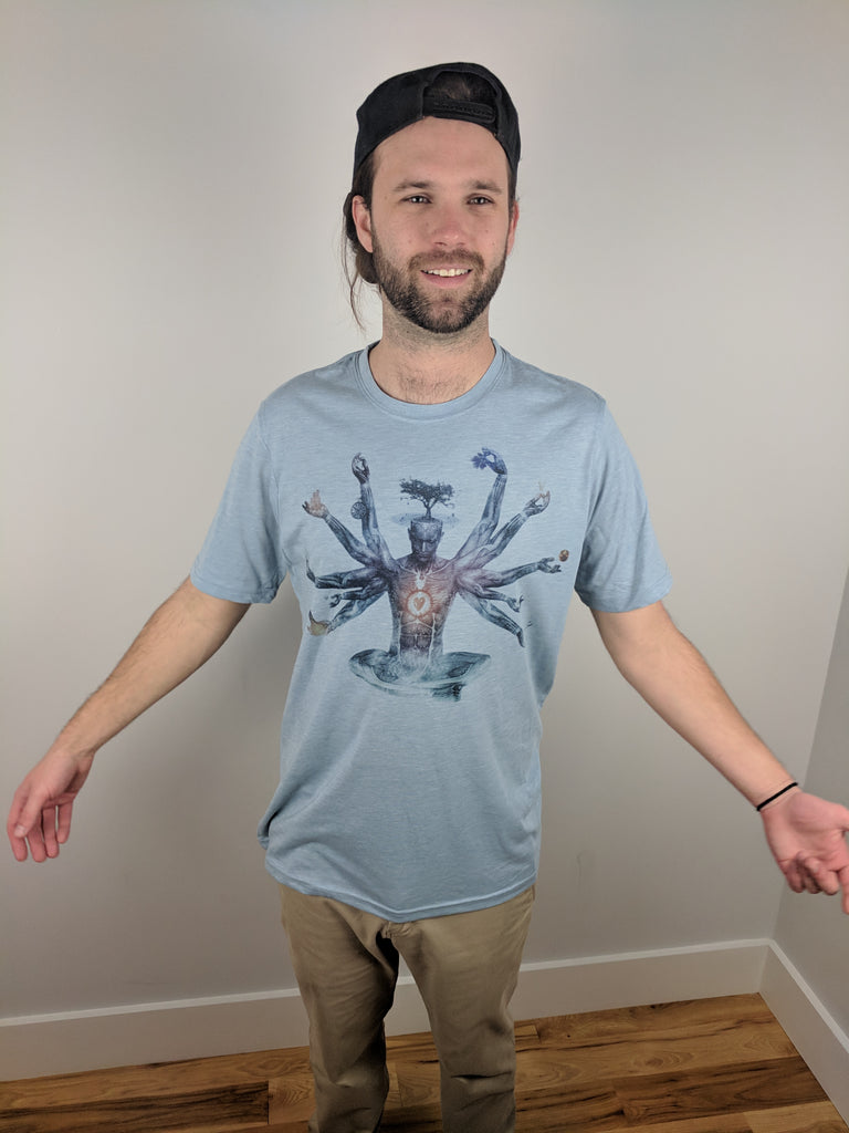 "Neverending Dream ""Subtle"" Tee by Cameron Gray"