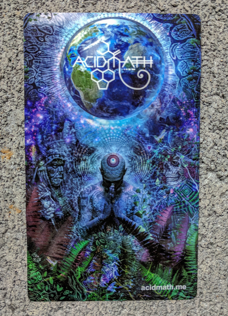Gratitude for the Earth and Sky by Gray LIMITED EDITION Art Sticker