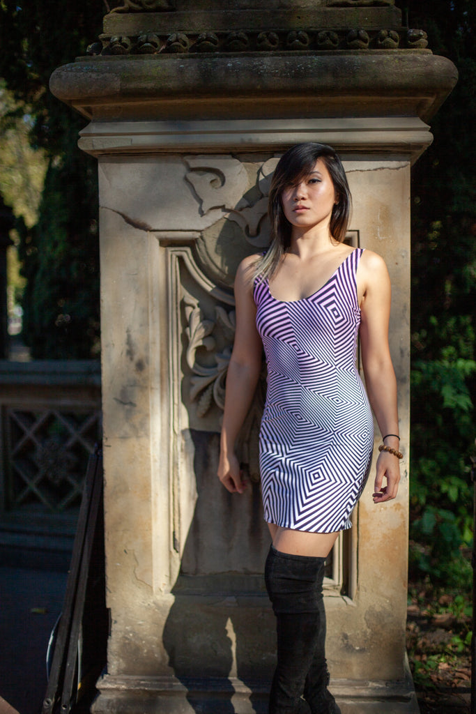 Opart 2 Dress by Telekinetica