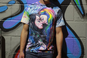 Colorful Me Legacy Sublimation Tee by Tayna Shatseva