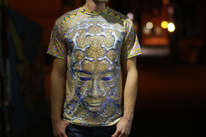 Macro Micro Sublimation Tee by Luminokaya