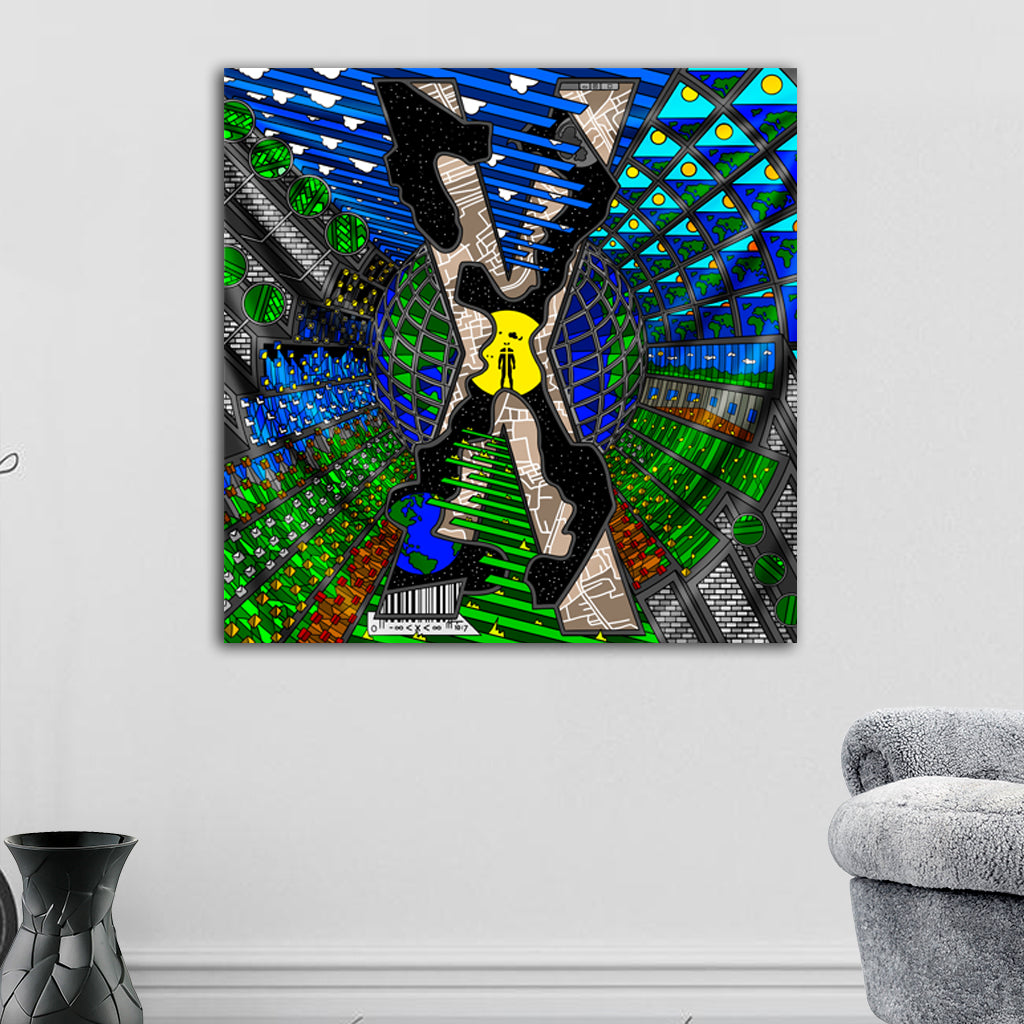 X Tapestry by Ivi Mo