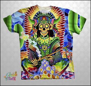 Indian Warrior Legacy Sublimation Tee by KIF Arts