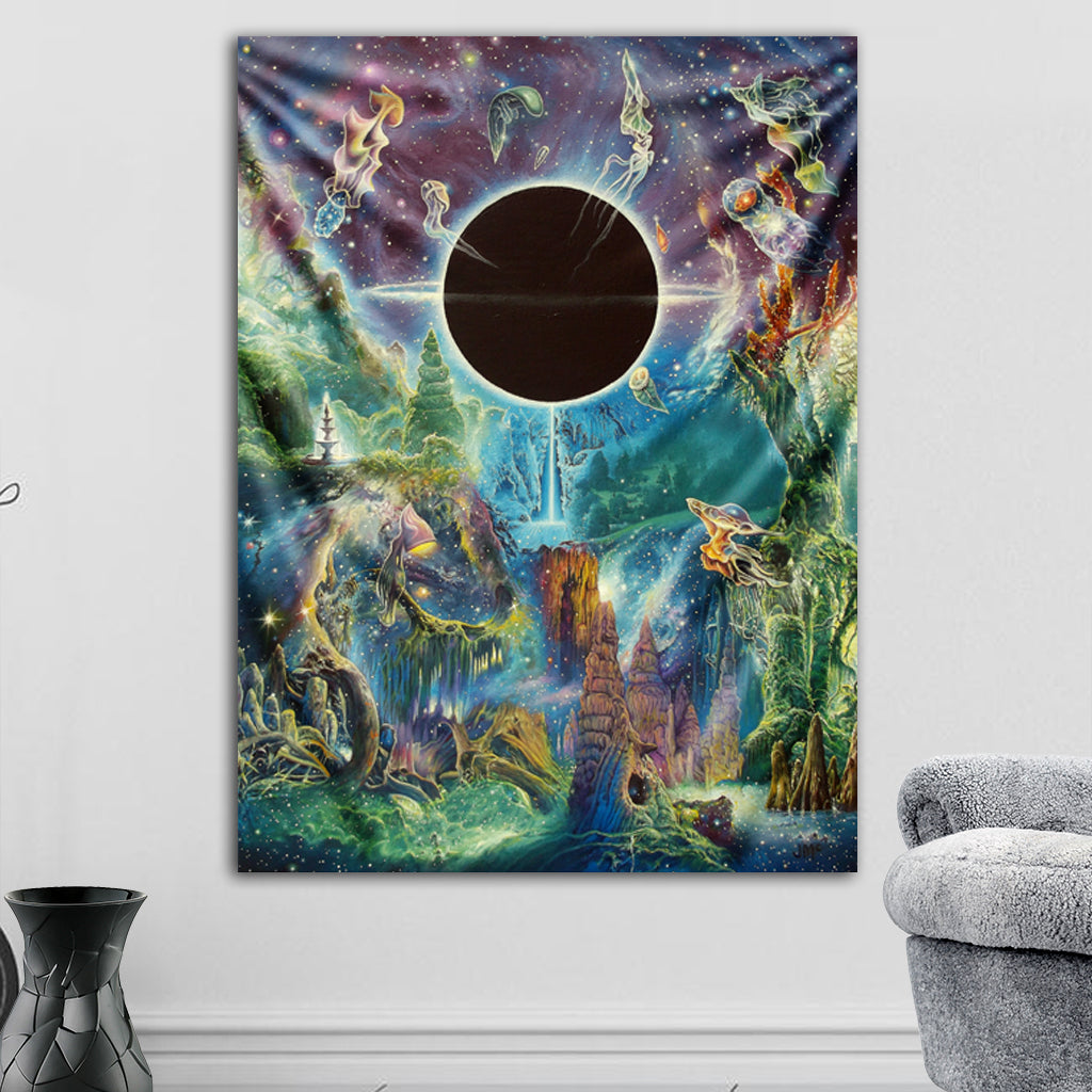 Across the Event Horizon Tapestry by James McCarthy