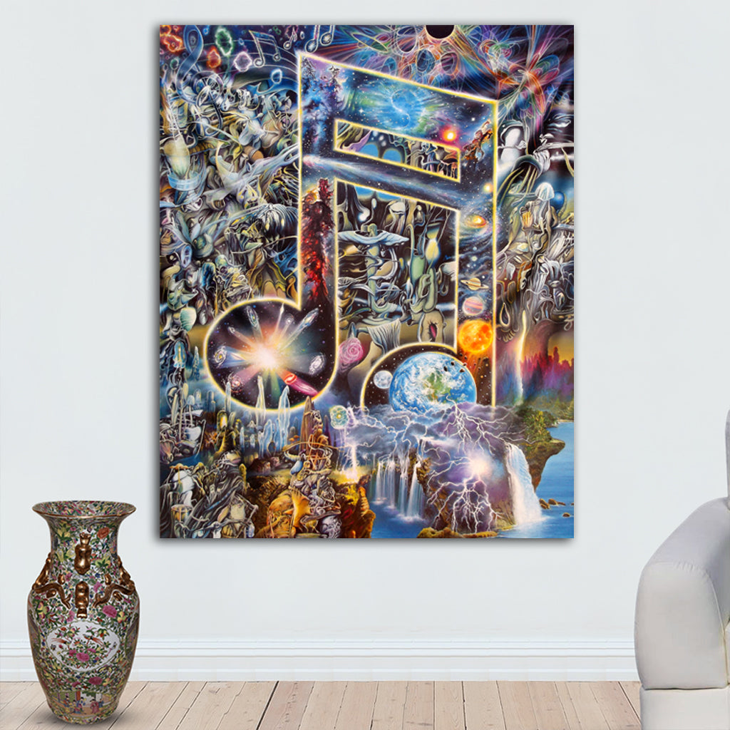 Sonic Aftermath Tapestry by James McCarthy