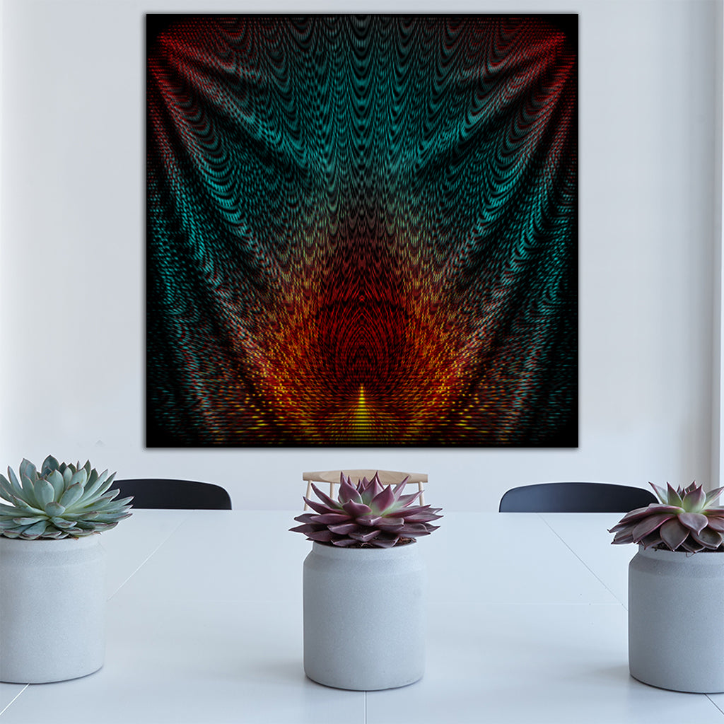 Flame Tapestry By Pattern Nerd