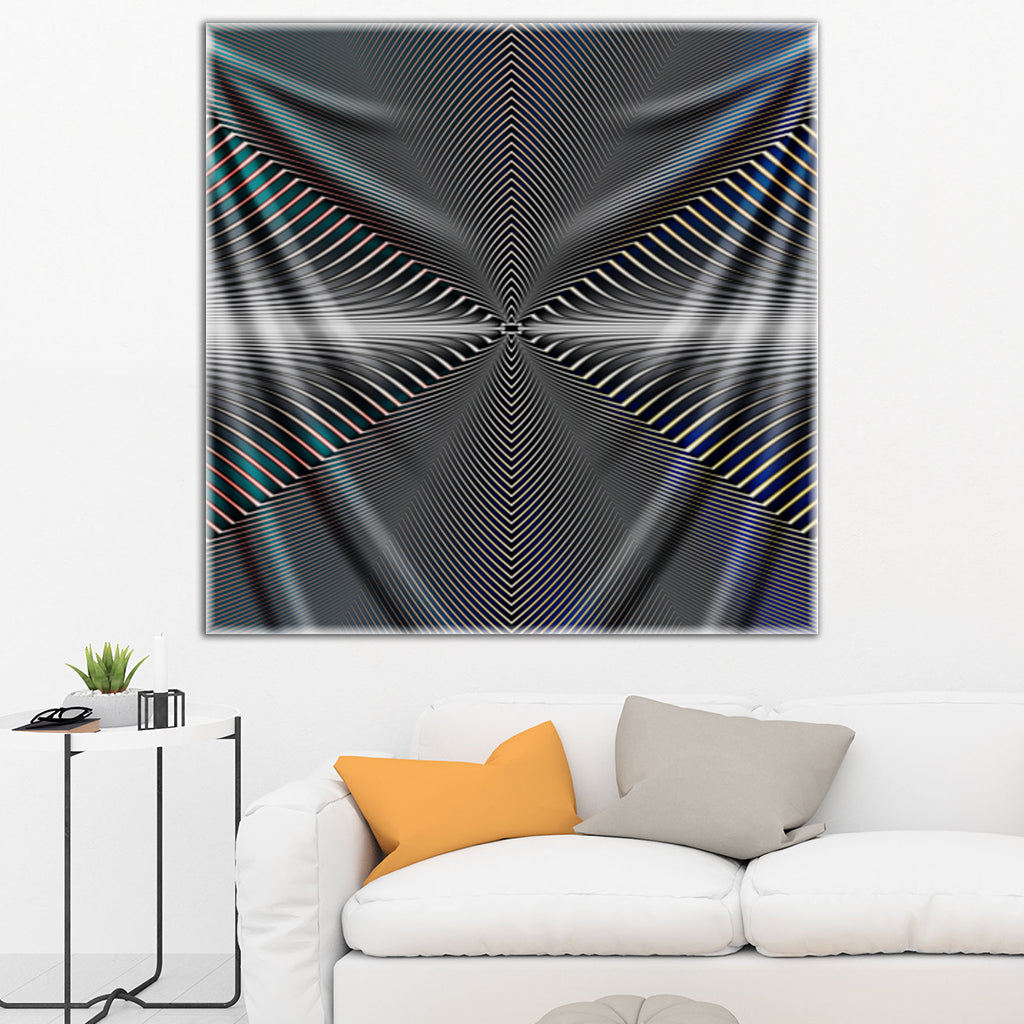 Vanishing Point Tapestry By Pattern Nerd