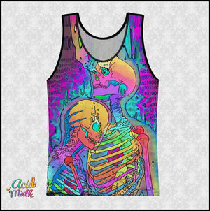 Skeleton Love Legacy Sublimation Tank by Phazed