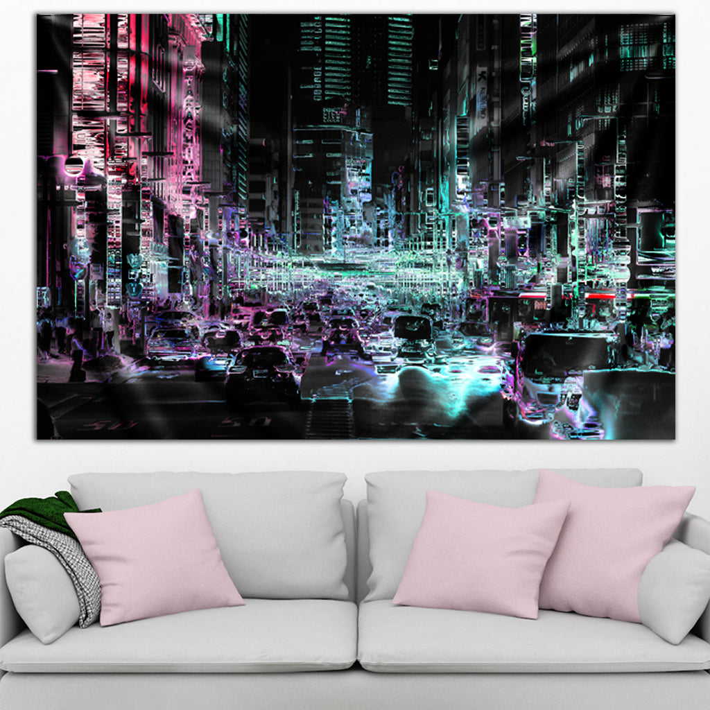City Tapestry by Hubert Solczynski