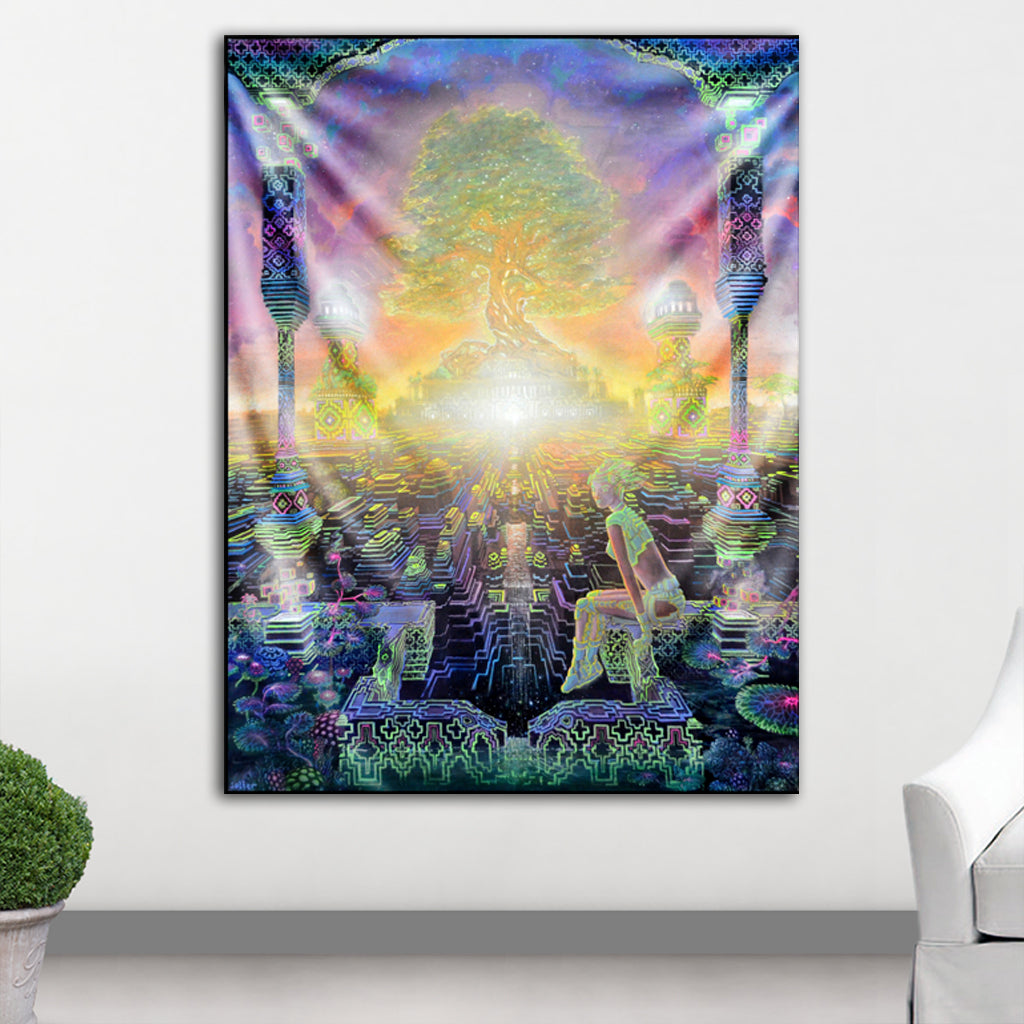 Eden Tapestry by Jonathan Solter