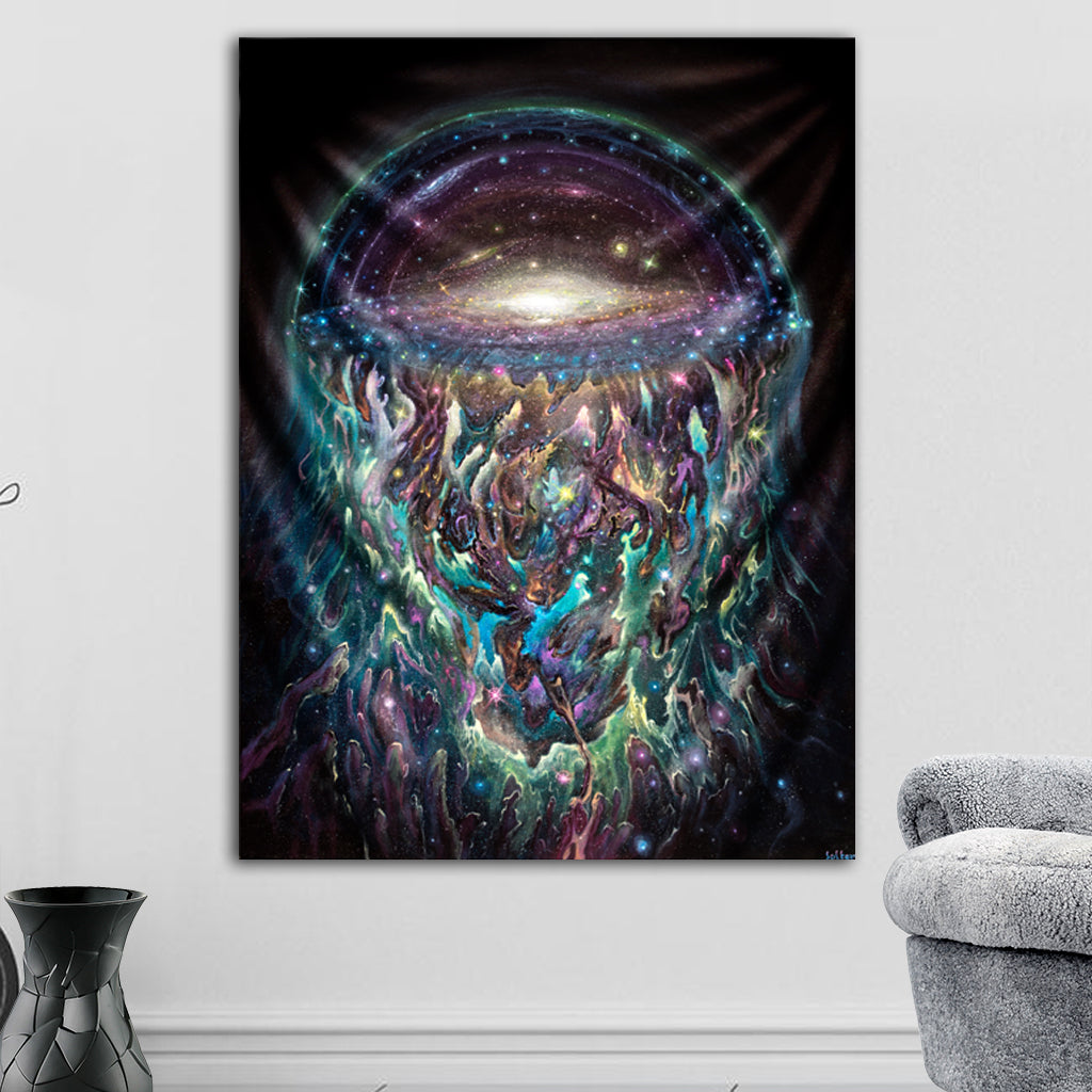 Galactic Jelly Tapestry by Jonathan Solter