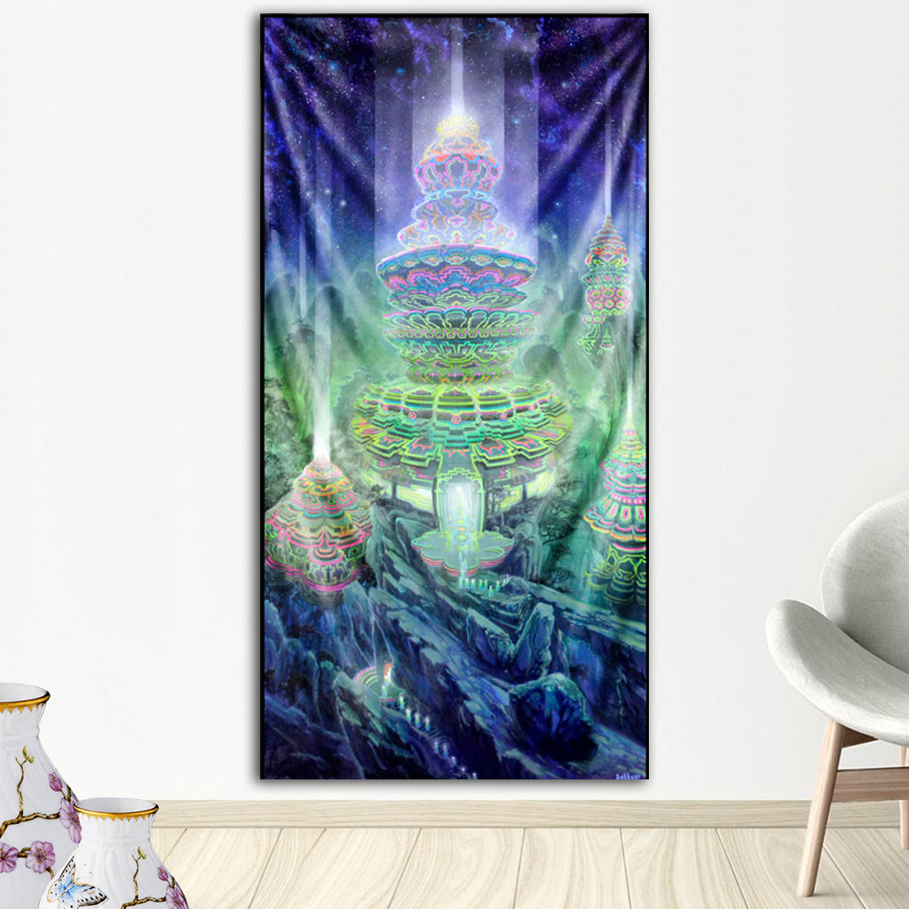 Manifestation Tapestry by Jonathan Solter