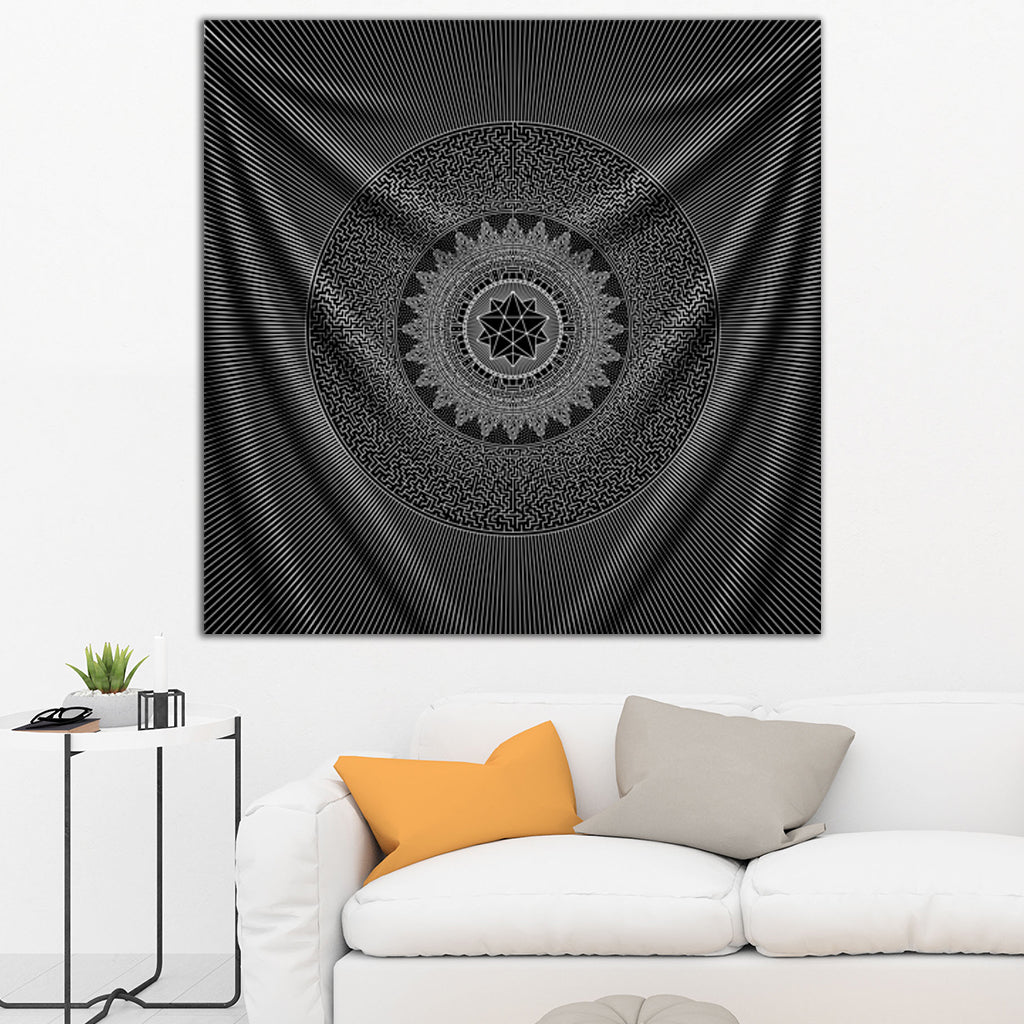 Labyrinth Tapestry by Brock Springstead