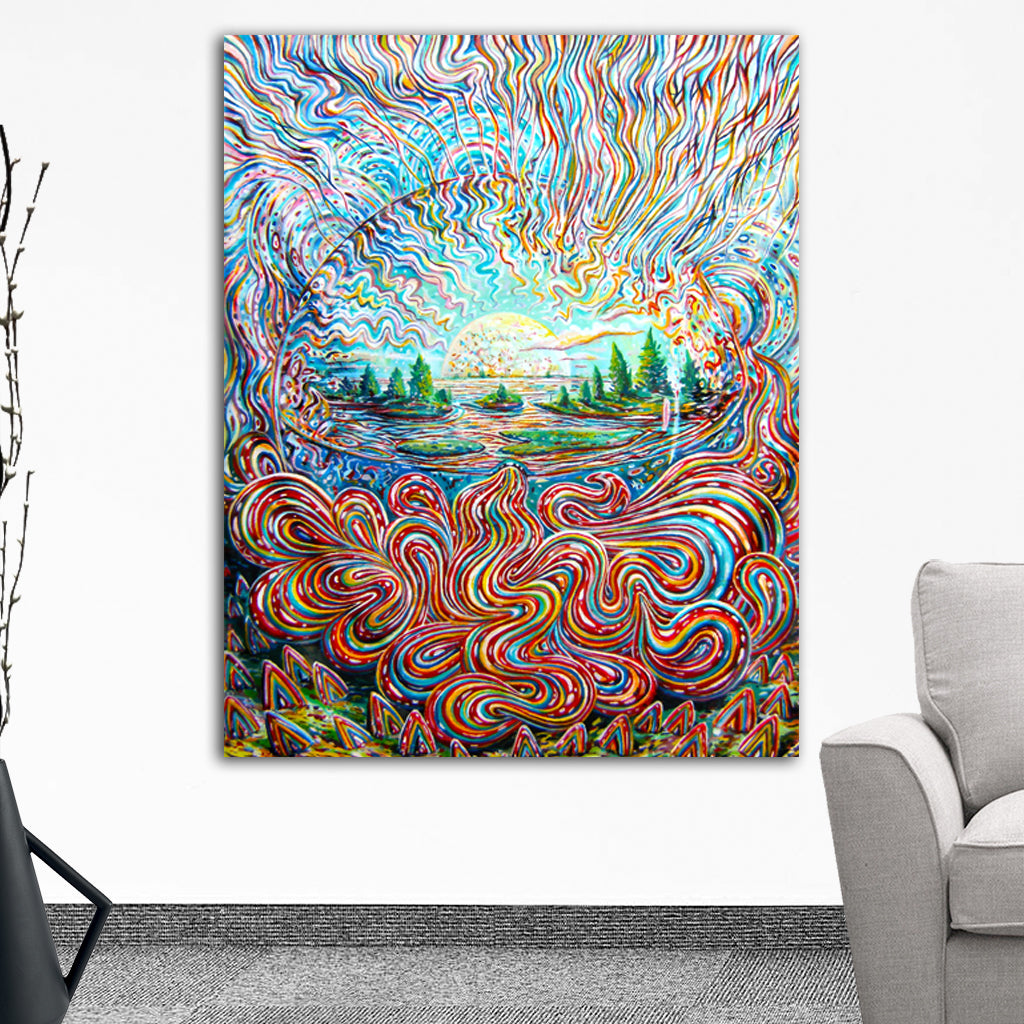 Color Synthesis Tapestry by Sukut