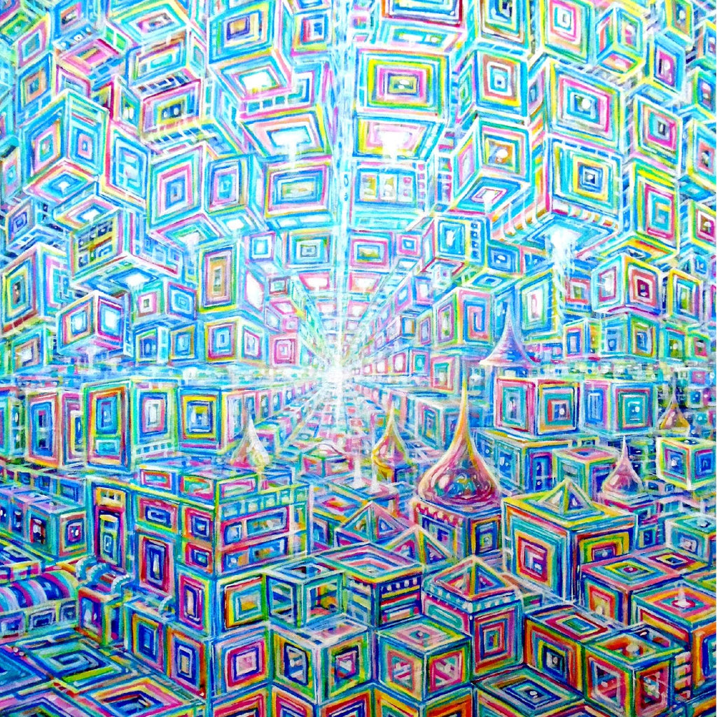 Holotropic Art Print by Chris Sukut