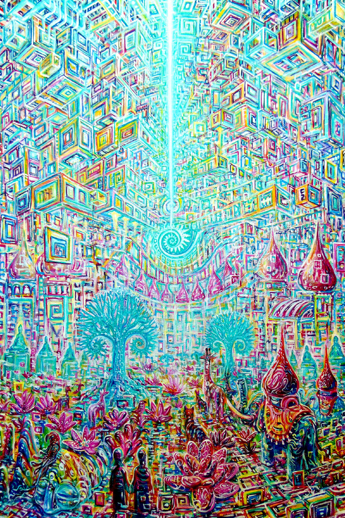Place Between Dreams Art Print by Chris Sukut