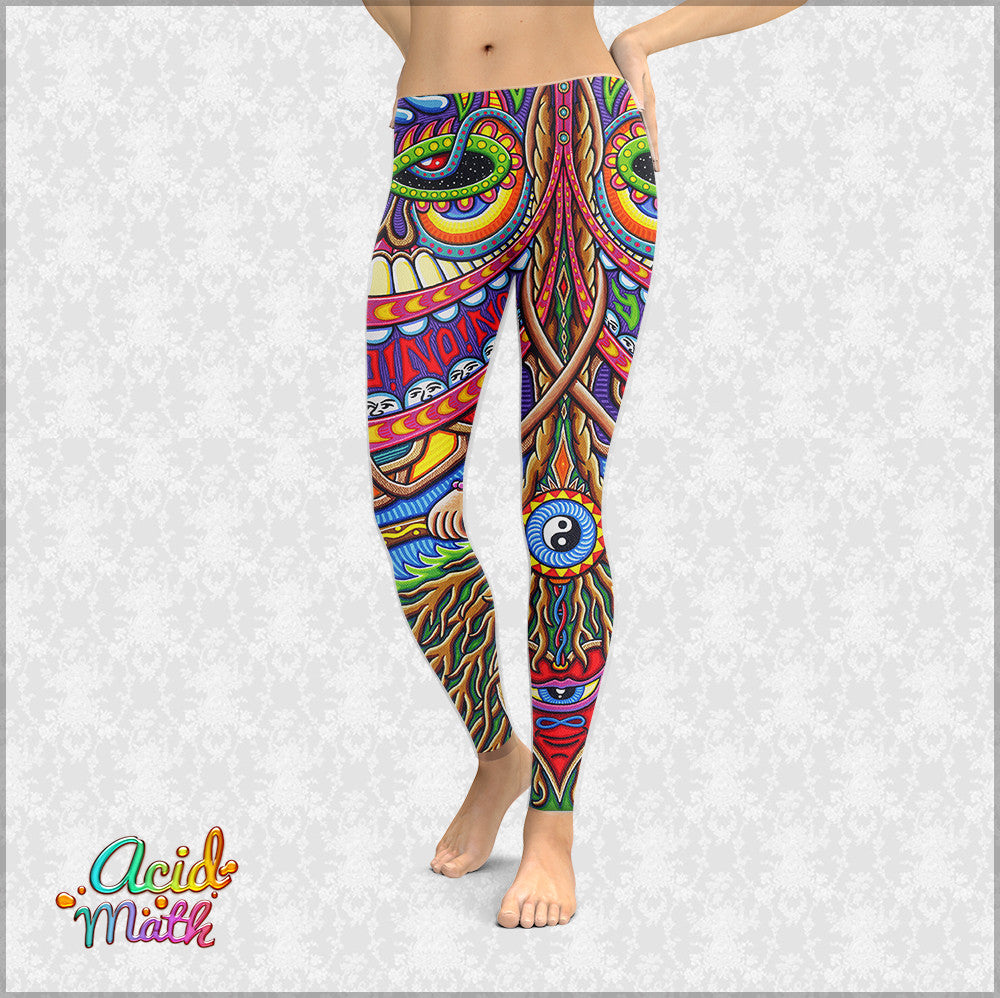 The Apotheosis of Dualitree Leggings by Chris Dyer