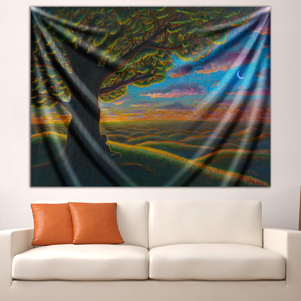 The Golden Hour Tapestry by Scott Tuckfield