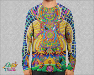 Neo Human Evolution Sublimation Longsleeve by Chris Dyer