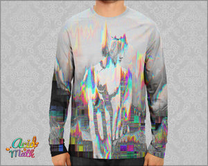 Afternoon Glitch Sublimation Longsleeve by Hubert Solczynski