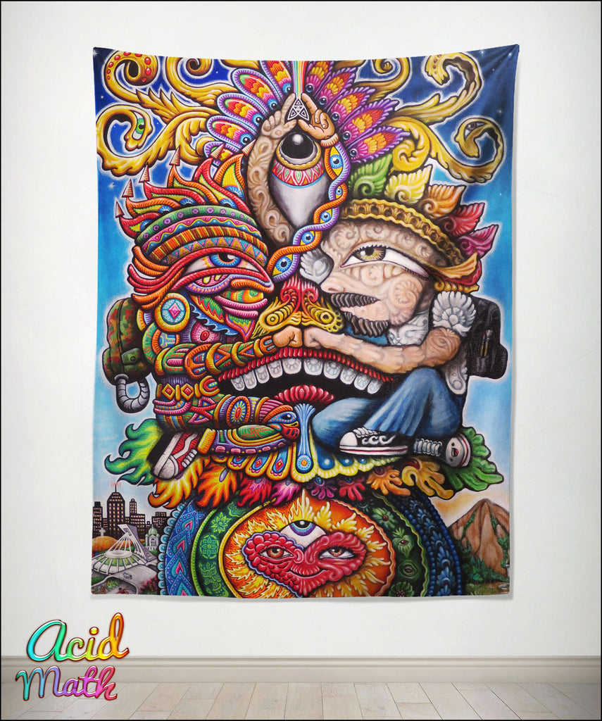 Bromance Tapestry by Chris Dyer and Randal Roberts