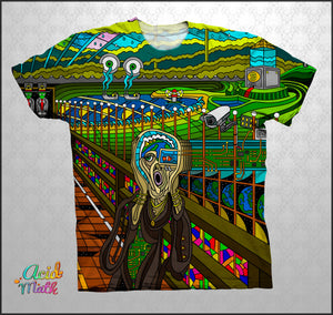 The Scream Legacy Sublimation Tee by Ivi Mo Art