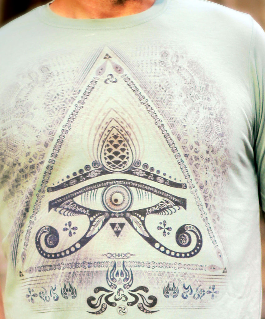 "Singular Sight ""Subtle"" Tee by Hakan Hisim"