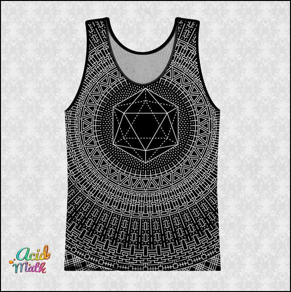 Icosahedron Legacy Sublimation Tank by Brock Springstead