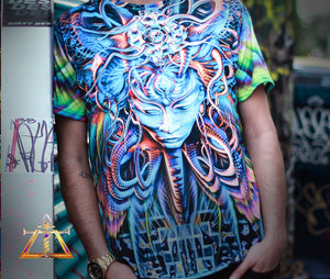 Pyroclastic Blow Sublimation Tee by Luminkoya