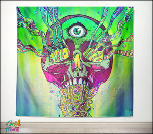 Mana Skull Tapestry by Phazed