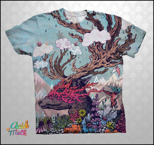 Journeying Spirit Legacy Sublimation Tee by Mat Miller