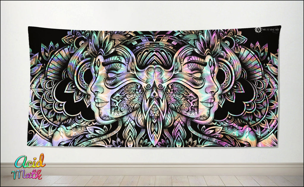 Organic Spirit Tapestry by Mil Et Une