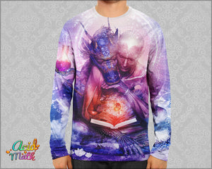 Perhaps The Dream Are Of Soulmates Sublimation Long sleeve by Cameron Gray