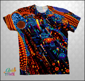 Bend Color Legacy Sublimation Tee by TAS