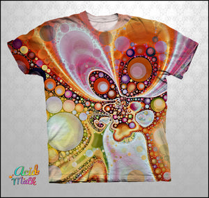 Inner Bubblings Legacy Sublimation Tee by Telekinetica