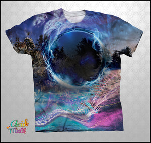 Spherical Guidance Legacy Sublimation Tee by White Pony