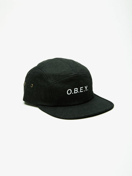 Obey Trenches 5 Panel Hats Ascent Wear - 1