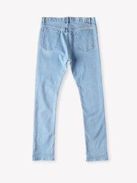 Obey New Threat Denim Slim Fit Light Indigo Pants Ascent Wear - 5