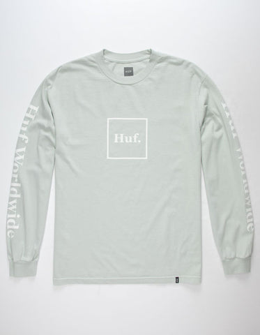 Huf Domestic LS Tee Cloud Blue