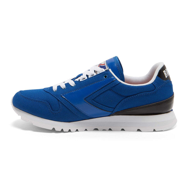 Brooks Heritage Varsity Chariot Shoe Blue/Black/White Shoes Ascent Wear - 3