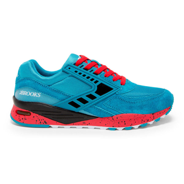 Brooks Heritage City Regent Shoe Blue/Red/Black Shoes Ascent Wear - 1